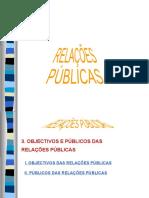 RP - Objectivos e Publicos