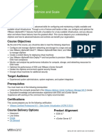 EDU_DATASHEET_vSphere Optimize and Scale V6.7