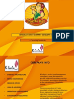 Chaat Ke Thaat- An Integrated Restaurant Consulting Venture by K Leela