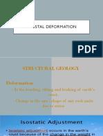 Crustal Deformation Final