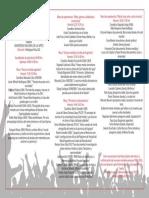 Programa Encuentro Sociocultural  sobre Heavy Metal