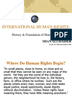 Human Rights History Foundations1