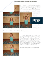 Kriya – Three Exercises for Energy, Creativity and Prosperity
