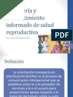 consejerayconsentimientoinformadodesaludreproductiva-130130230732-phpapp02