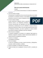 Perfil de Plan de Investigación William Godoy