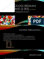 Teknologi Sediaan Farmasi 1