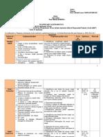 Planificare Cl.a VII-A L2 Ed.art Klett