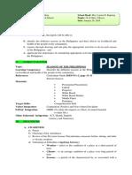 Lesson-plan Cot Science 6 · Version 1