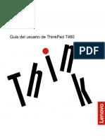 MANUAL DE USUARIO THINKP AD T 4 6 0 EN ESPAÑOL