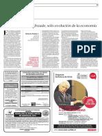 033 La Tercera Roberto Pastén Sobre La Interdisciplinariedad de La Economía