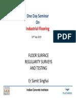 Floor Surface Regularity Flatworx