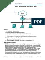 3.4.3.5 Lab - Address Resolution Protocol (ARP) (1).docx