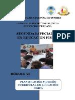 m11. Planificación y Diseño Curriculuar en Educación Física