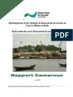 Etude Nationale Sur Le Financement Du Secteur de Leau Au Cameroun
