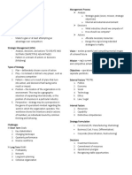 NOTES in Business Policy and Strategy (1)