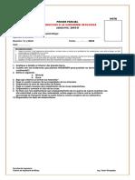 Examen i Parcial Introduccion a La Ingenieria Geologica
