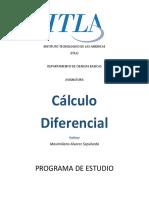 Programa de Estudio Calculo Diferencial