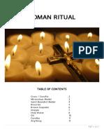 Roman Ritual Booklet 2015