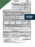 BIR FORM 1902 - Application for Registration