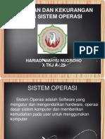 Kelebihan Dan Kekurangan Sistem Operasi