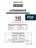 Namma Kalvi 12th Economics Unit 1 Surya Economics Guide Em