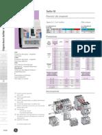 PC Disjoncteurs FD 100 125 160A 25KA GE