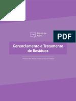 Gerenciamento e tratamento de resíduos