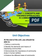 Units concepts