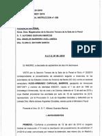 Rechaza extradición Hugo carvajal