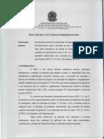 Nota Técnica n°254-2016-CGNOR - botão emergência