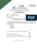 Fallsem2019-20 Cse4014 Eth Vl2019201003652 Model Question Paper Cat-i-cse4014-c1