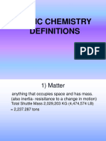 Chemistry Vocabulary - H. Bio. Web Version.ppt