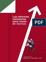 Las Reformas Necesarias Para Crecer En Libertad