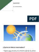 Efecto invernadero^J Cambio Climático