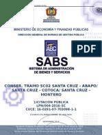 DBC TRAMO SC02   STA CRUZ ABAPO - STA CRUZ COTOCA - SANTA CRUZ MONTERO.doc