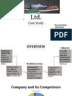 Footwear India Ltd-Case Study 1