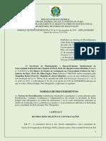 Normas e procedimentos de estágio