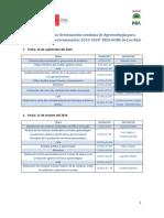 Programa Oficial Curso Formacion Continua Agroecologico INIA-GORE de LOS RIOS