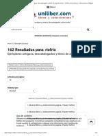 Riofrio - Ejemplares Antiguos, Descatalogados y Libros de Segunda Mano - Uniliber.com _ Libros y Coleccionismo Antiguos