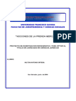 NOCIONES DE LA PRENDA MERCANTIL