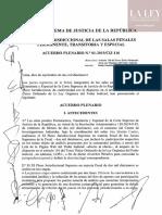 XI Pleno Jurisdiccional - Acuerdos 1 al 6