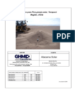 Pica & Atacama Geotechnical Repor Español
