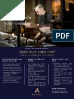 RMM-0052 Executive Sous Chef