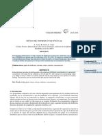 Informe Quimica metano