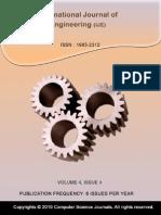 International Journal of Engineering (IJE) V4 I4