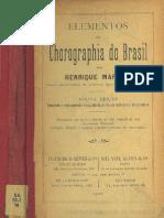 Elementos de Chorographia Do Brasil 1910 Martins Biblioteca Nacional de Maestro Httpwww.bnm .Me .Gov .Ar