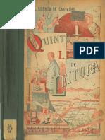 Quinto Livro de Leitura Carvalho 1910 Biblioteca Nacional de Maestro Httpwww.bnm .Me .Gov .Ar 0