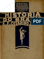 Historia Do Brasil (Para o Curso Comercial) - A.f. Cesarino Junior