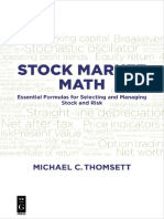 Stock Market Math - Essential Formulas