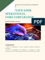 El Amplificador Operacional Como Comparador